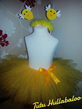 Plain Tutu Yellow - Child