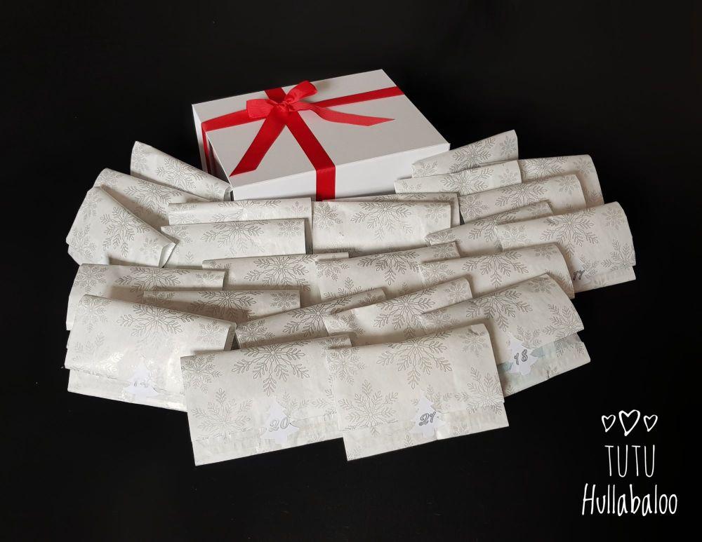 Christmas Advent Bow Box - 24 days