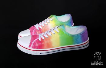 Rainbow Lowtops