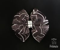 Spider Web Double Tux Bow