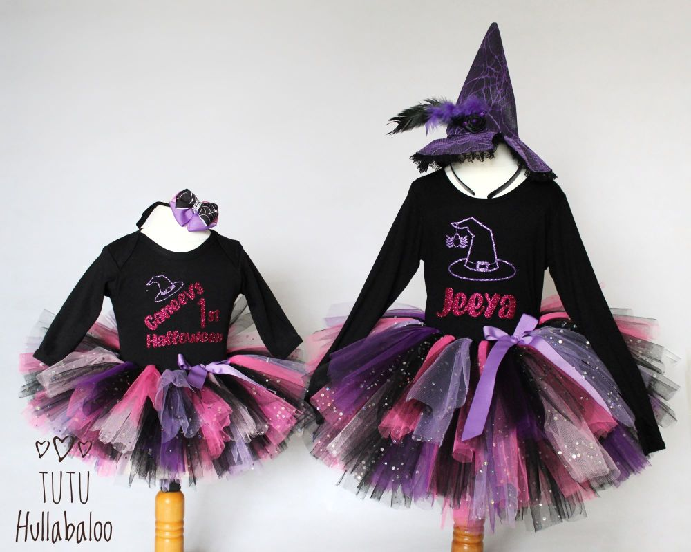 Witch Tutu + Top Set