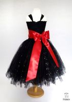 Big Bow Dress Full Length