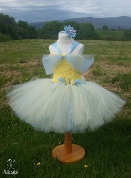 Princess Dress Yellow/Blue