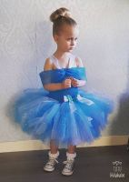 Princess Dress Blue