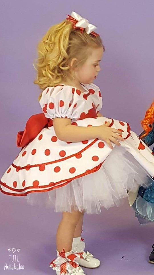 Polka Dot Dress Red/White