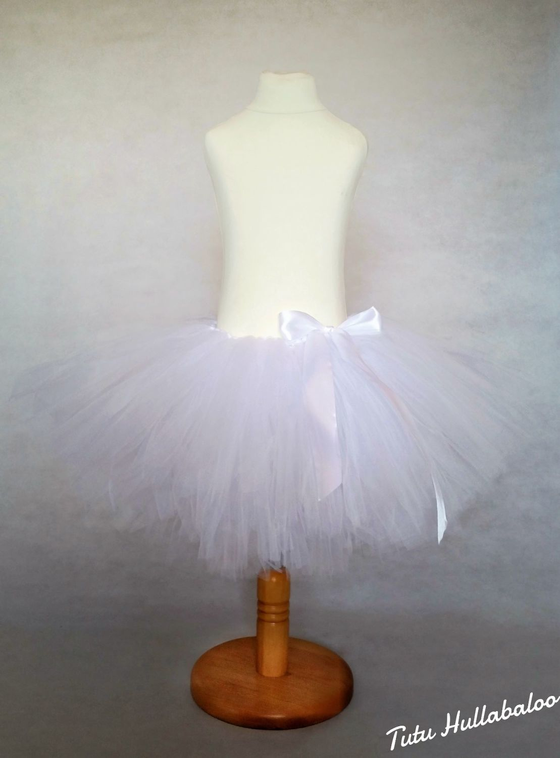 Kids' Plain Tutu White
