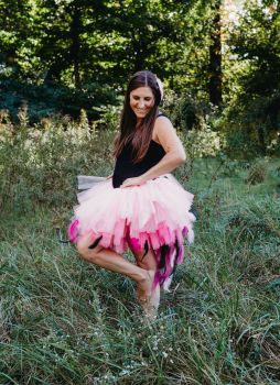 Pink Flamingo Tail Tutu
