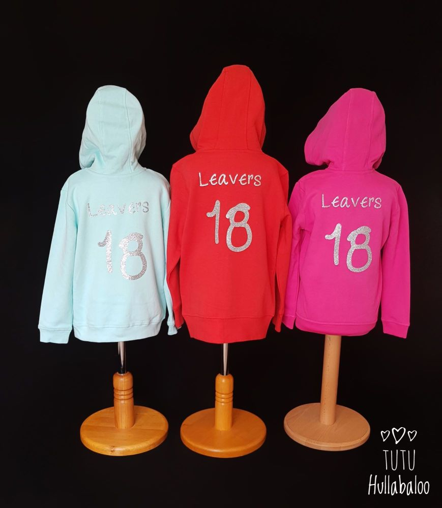 Leavers Zipped Hoodies