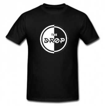 Tshirt Black - The Drop Circle
