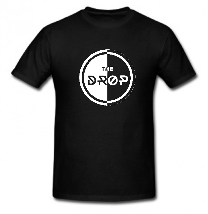 The Drop Circle Tshirt Black