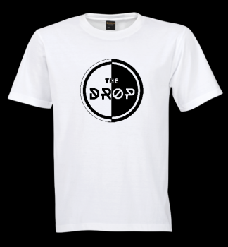 Tshirt White - The Drop Circle