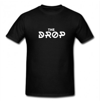Tshirt Black - The Drop