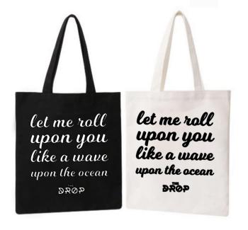Tote Bag The Drop Ocean
