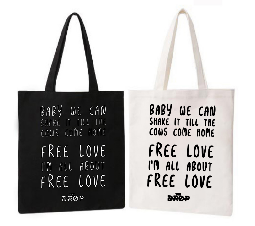 Free Love Tote Bag