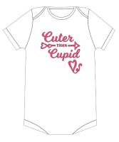 Cuter than Cupid Tshirt/Vest