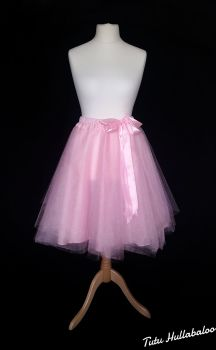 Full Circle Tulle Skirt - Pink - Adult