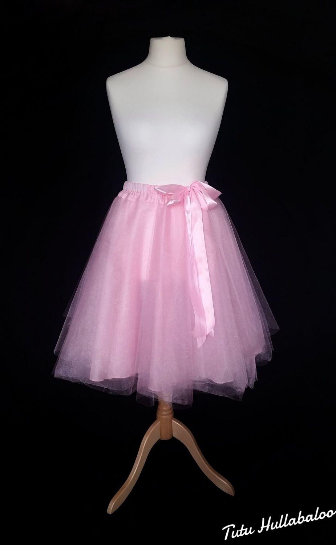 Full Circle Tulle Skirt - Pink