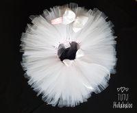 Plain Tutu Ivory/Pink - Child