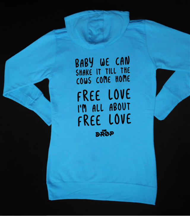 The Drop Ladies Lyric Hoodie