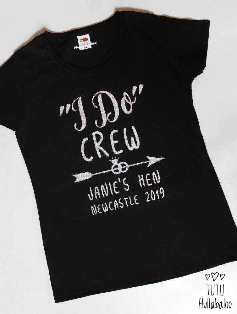 Janie's I Do Crew Tshirt