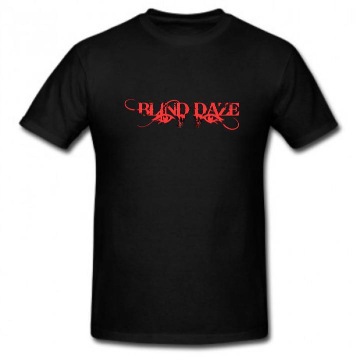 Blind Daze Tshirt Black/metallic red