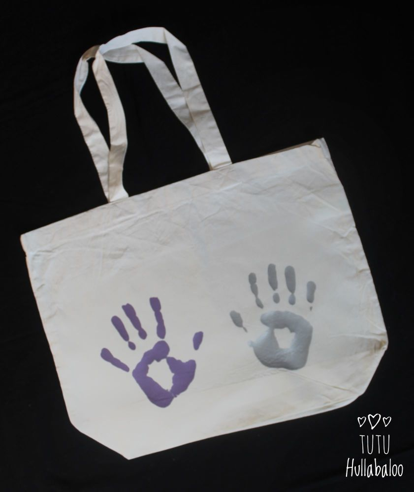 Maxi Tote Bag Custom - Hands