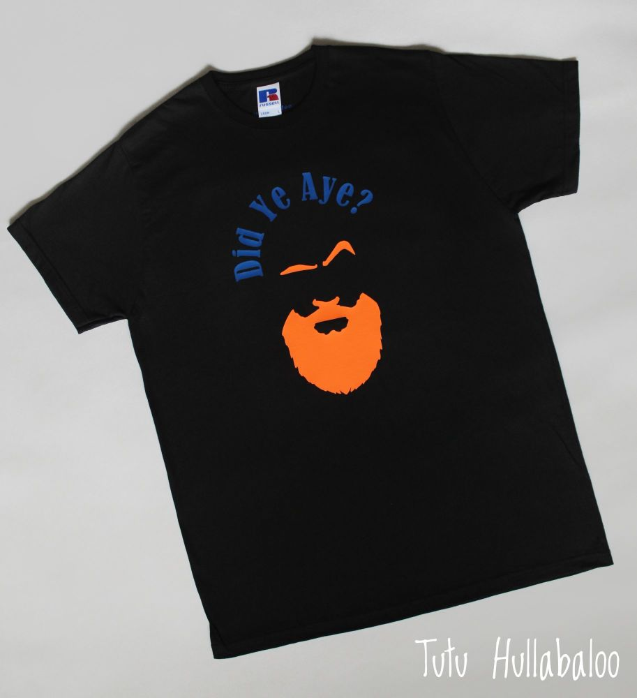 Did Ye Tshirt - Black/Blue/Orange