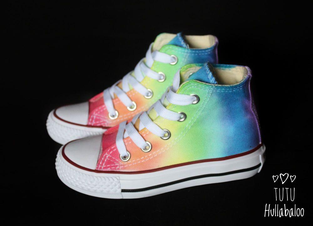 Rainbow Hightops