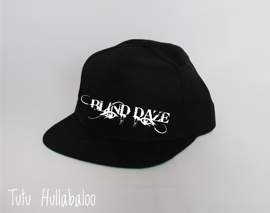 Blind Daze Snapback Hat - White