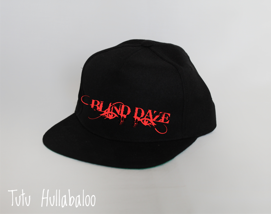 Blind Daze Snapback Hat - Red