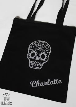 Tote Bag Skull - Ready to post