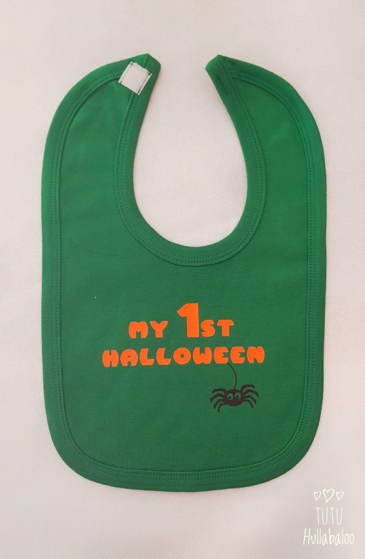 First Halloween Bib - Ready to post