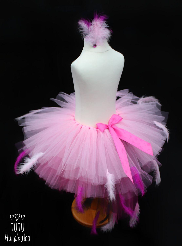 Pink Flamingo Tail Tutu - Child