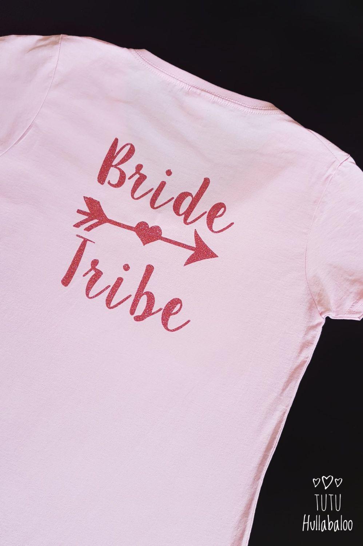 Hen - Bride Tribe Tshirt - Medium Ladies - Ready to post