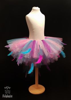 Blue Magpie Feathered Tutu - Child