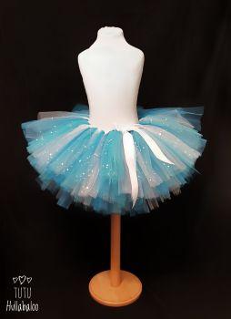 Plain Tutu Turquoise/Blue/White - Child