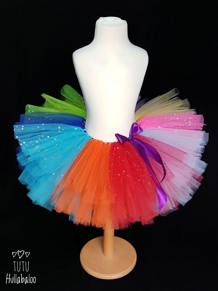 Rainbow Bold Tutu - Child