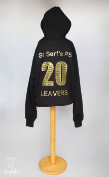 Leavers Pullover Hoodie Personalised
