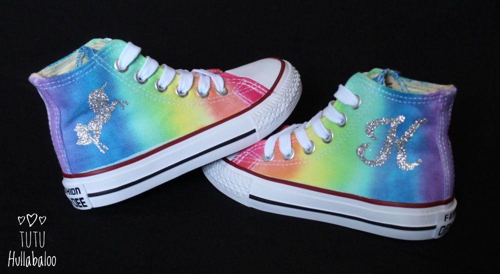 Custom Rainbow Hightops