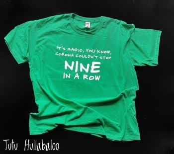 Nine in a Row Tshirt