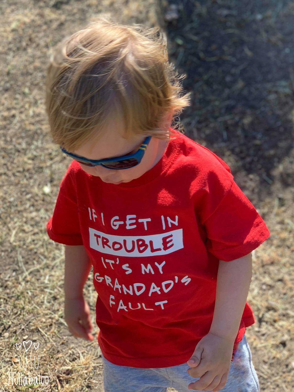 Grandad's Fault Tshirt Set
