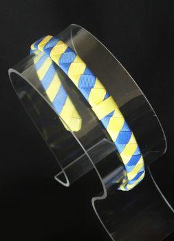 Plain Blue/Yellow Stripes
