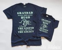 The Legend and The Legacy Tshirt Set