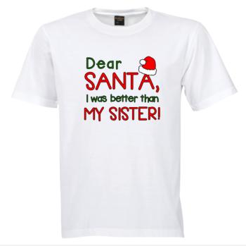 Dear Santa Tshirt