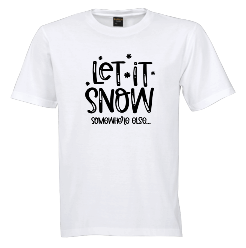Let It Snow Tshirt