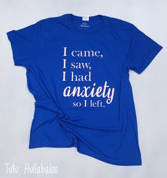 Anxiety Tshirt