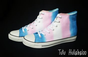 Trans Flag Hightops