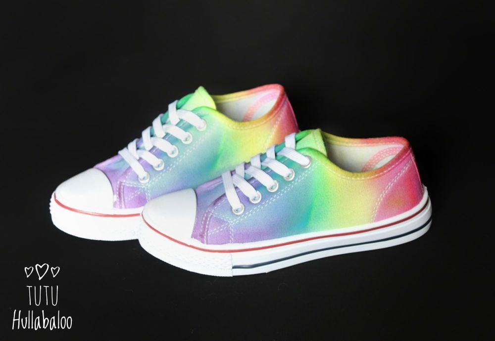 Reverse Rainbow Lowtops Sale