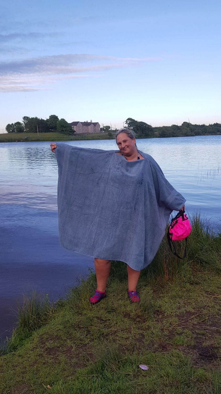 Towel Changing Poncho - Adult