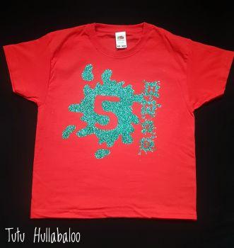 Splodge Splat Age Tshirt